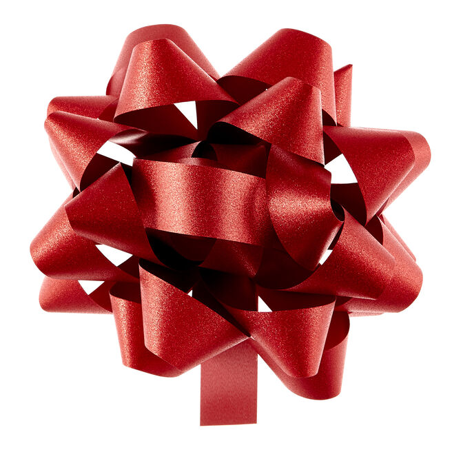 Giant Red Gift Bow