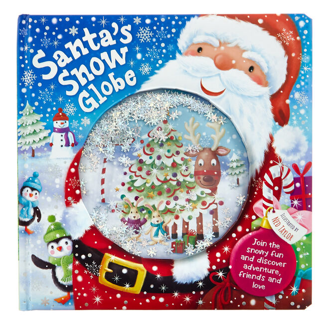 Santa's Snow Globe Story Book