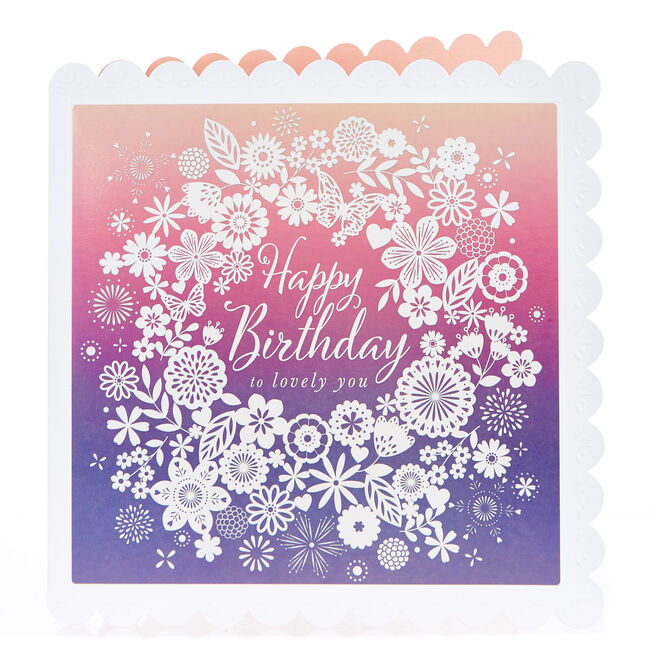 Birthday Card - Lovely You