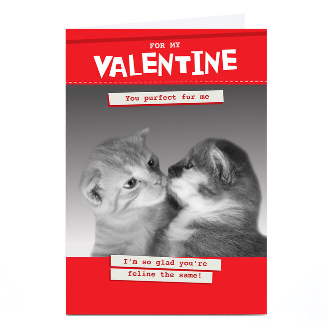 Personalised Quitting Hollywood Valentine Card- For my Valentine