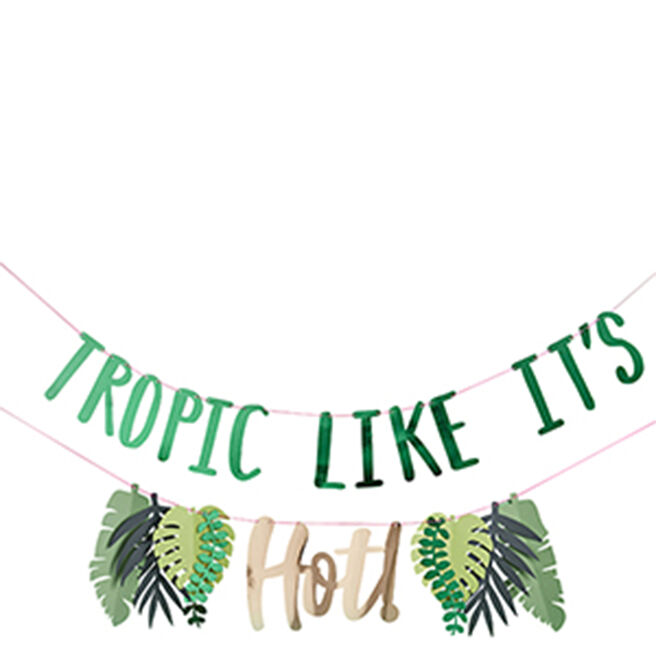 Tropic Like It's Hot Party Banner