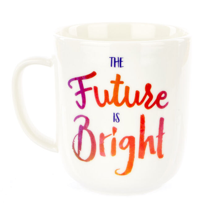 The Future Is Bright Mug In A Box