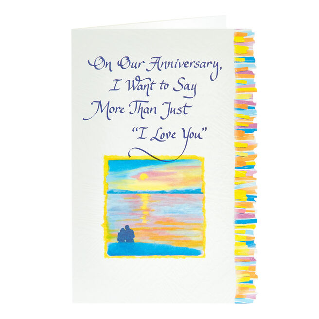 Blue Mountain Arts Card - On Our Anniversary