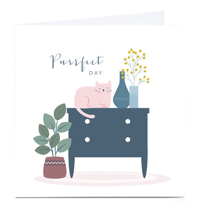 Personalised Klara Hawkins Card - Purrfect Day