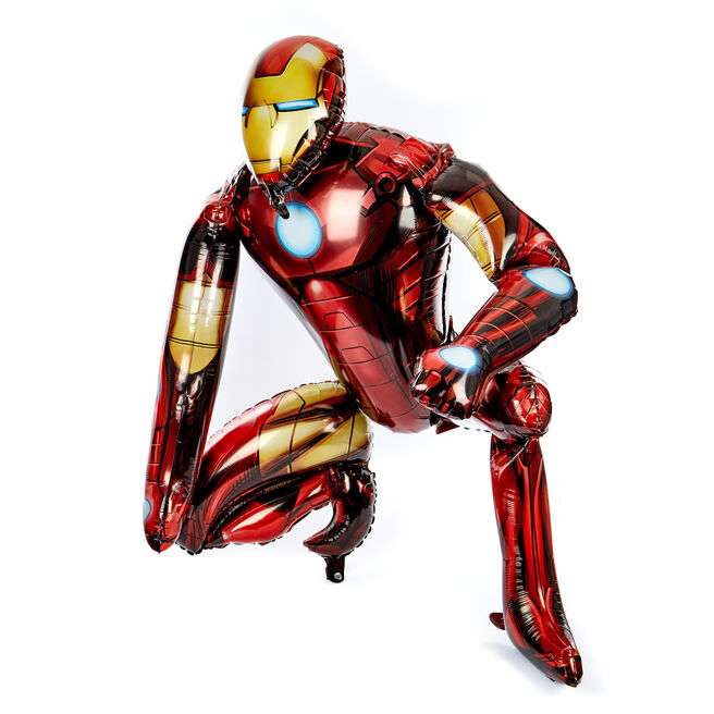 Avengers Iron Man Helium Airwalker Balloon (Deflated)