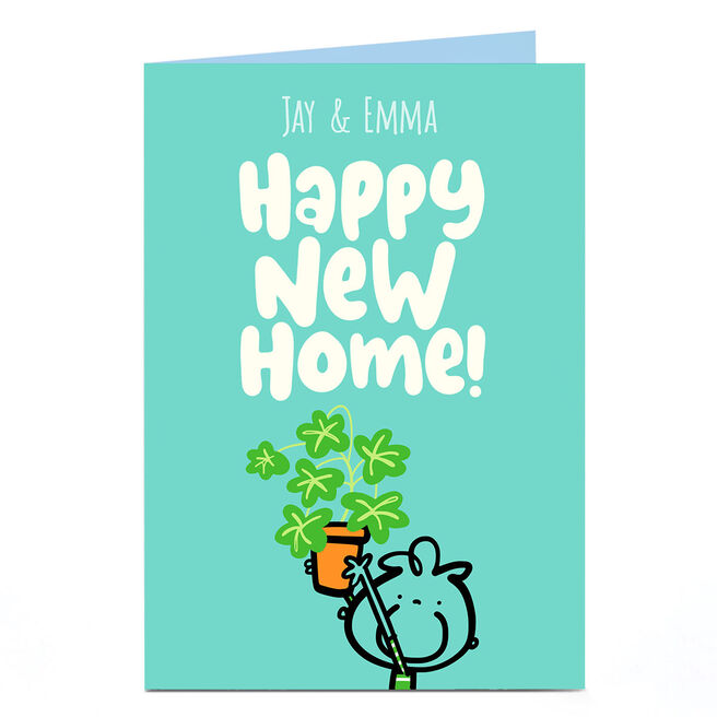 Personalised Fruitloops New Home Card - Happy New Home