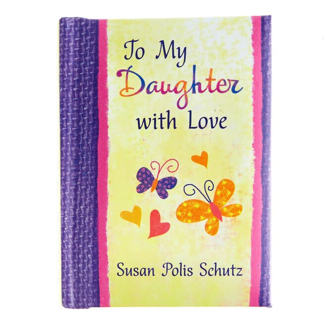 Blue Mountain Arts Keepsake Book - To My Daughter With Love