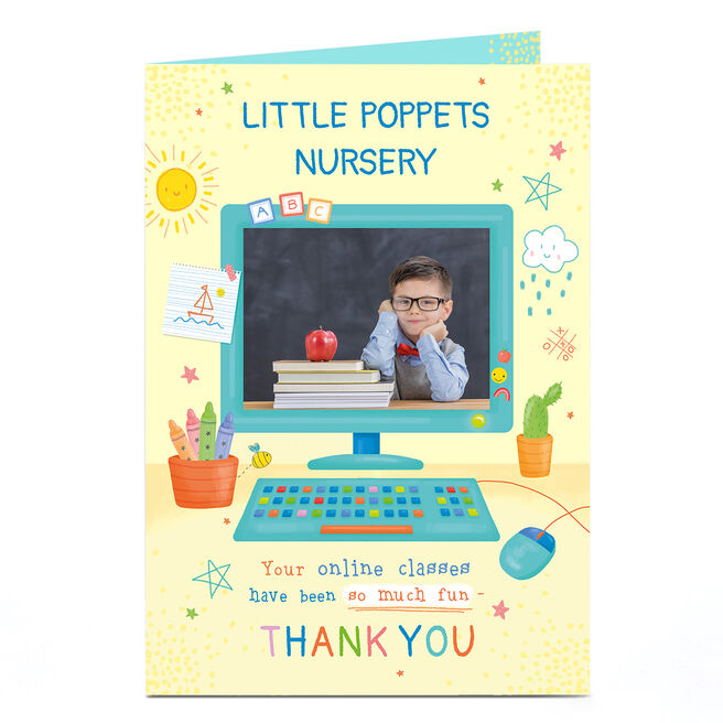 Photo Thank You Card - Your Online Classes