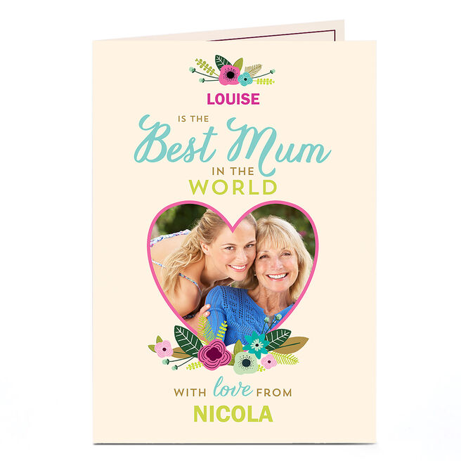 Photo Card - Best Mum In The World