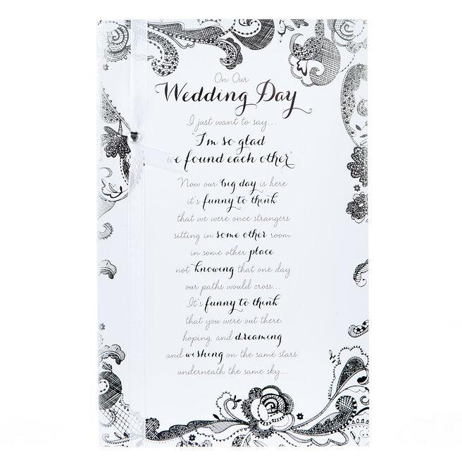 Wedding Card - So Glad We Found Each Other