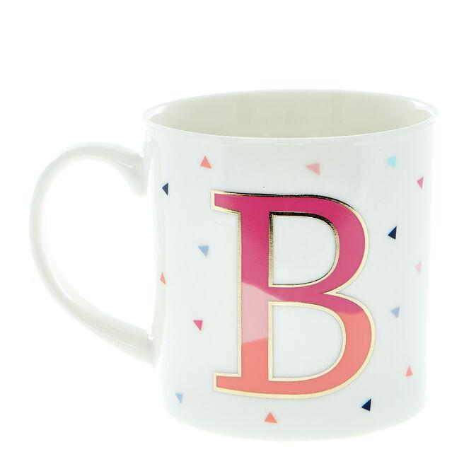 Letter B Alphabet Mug