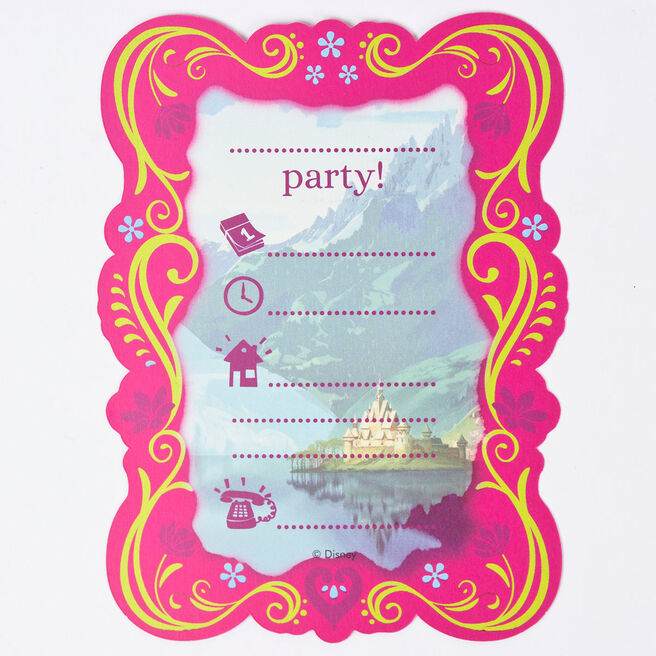 Disney Frozen Invitations - Pack Of 6
