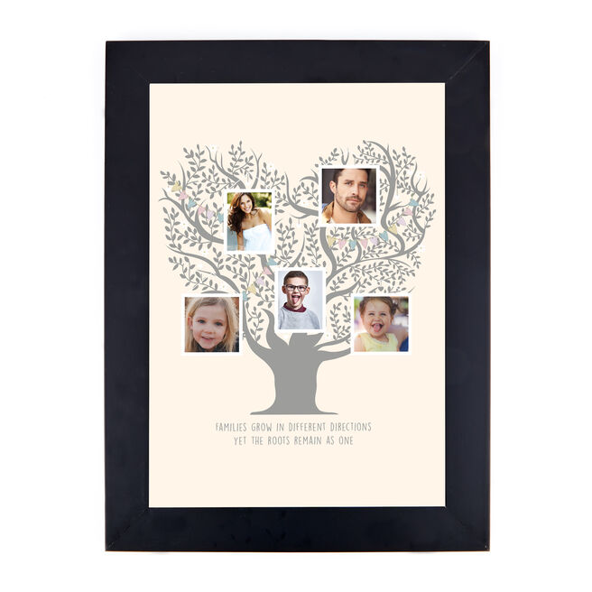 Personalised Photo Print - Family Photo Tree