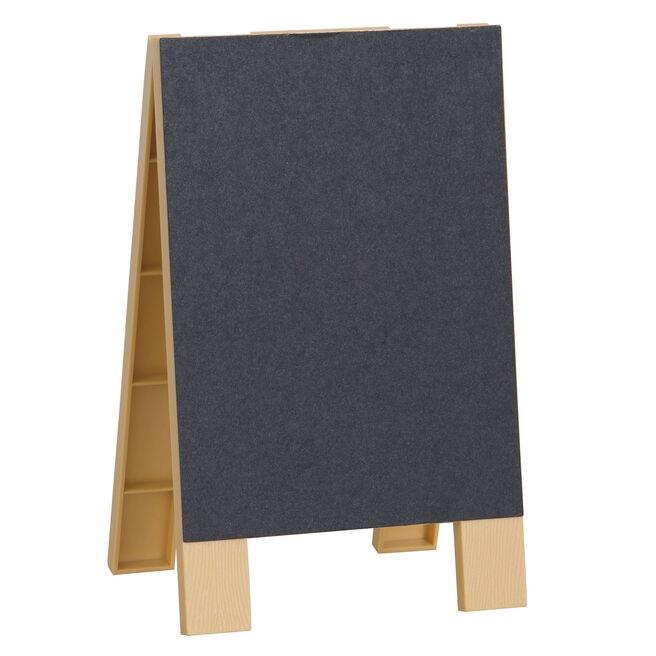 Mini Chalkboard Easel With Chalk