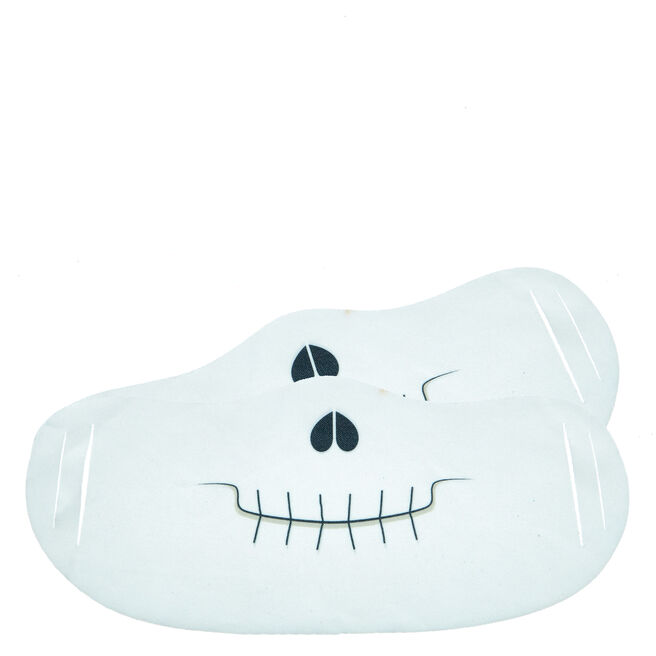 Washable Skull Face Coverings - Pack Of 2