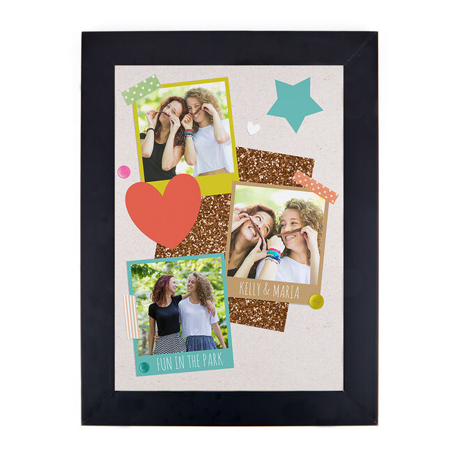 Photo Upload Print - Hearts and Stars