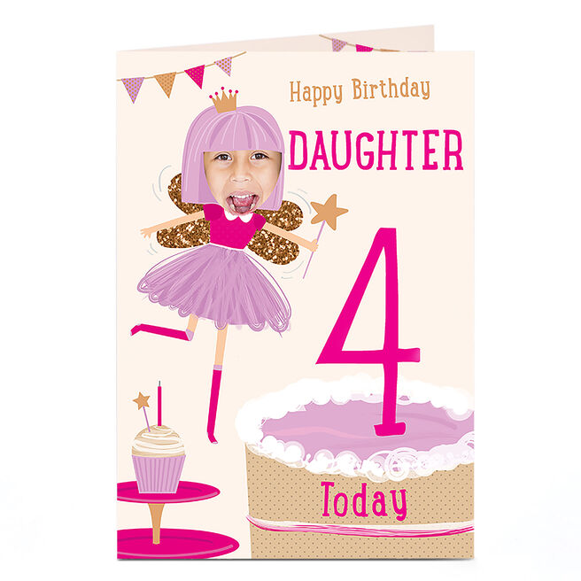 Photo Birthday Card - Birthday Fairy [any age/recipient]