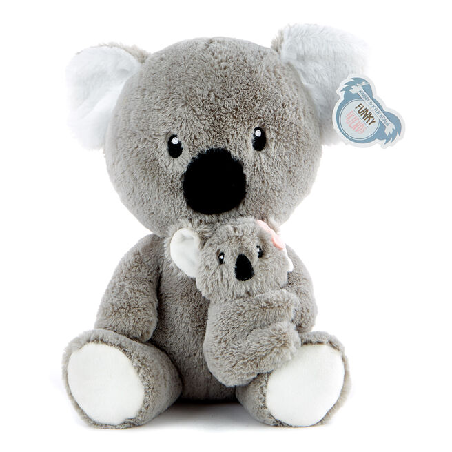 Koala With Baby Soft Toy