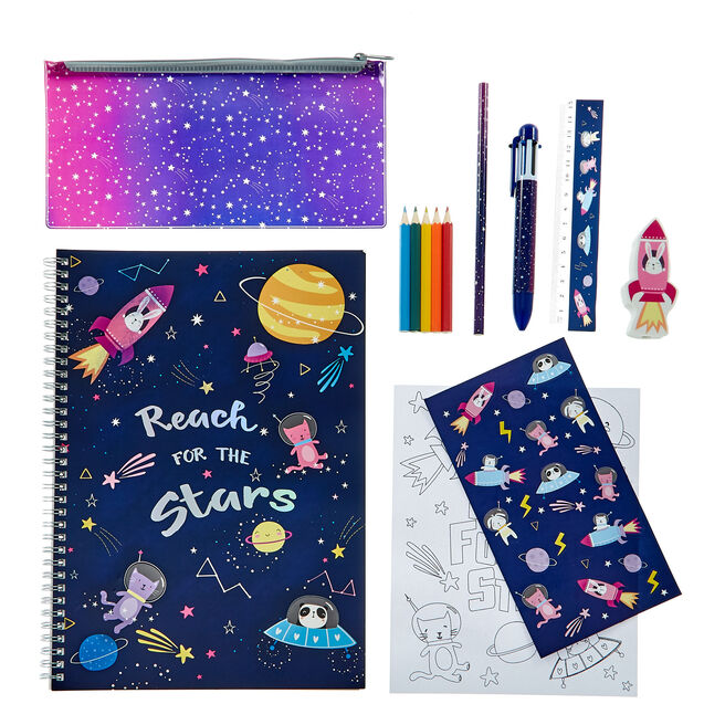 Large Reach For The Stars Stationery Set