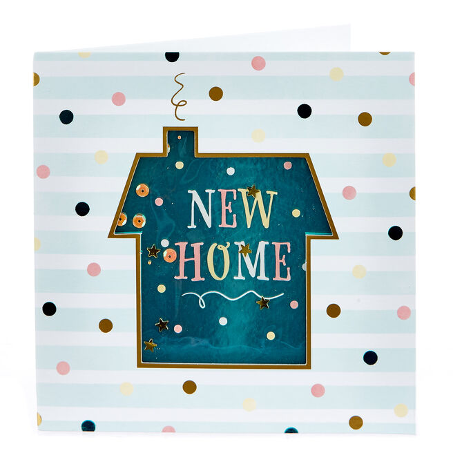 Boutique Collection New Home Card - Polka Dot House