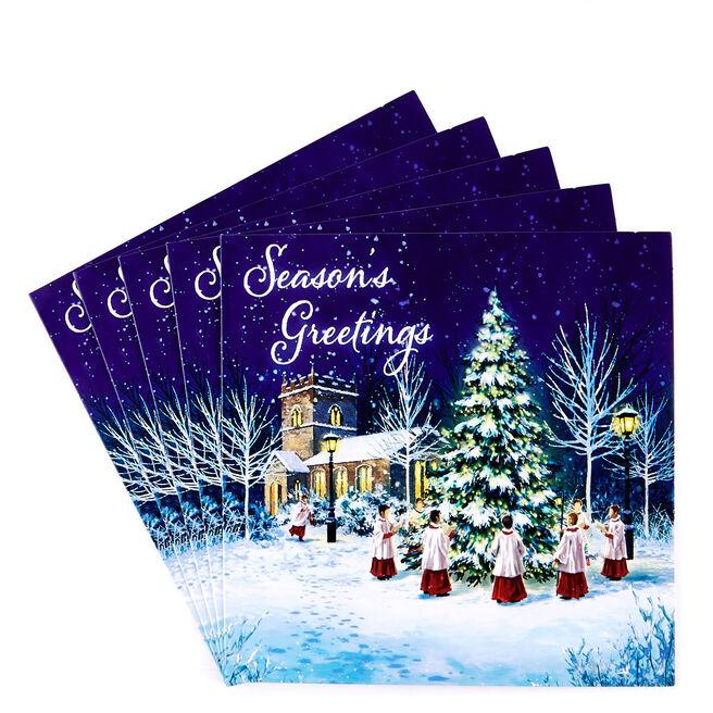Charity Christmas Cards - Church Choir Pack Of 10