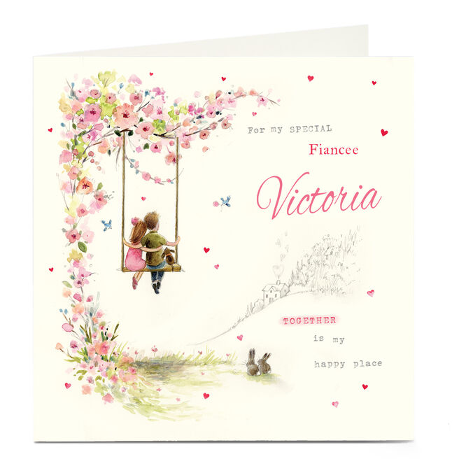 Personalised Card - Together Is My Happy Place
