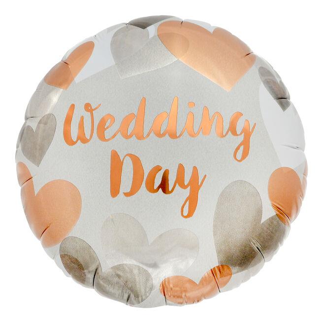 Wedding Day 18-Inch Foil Helium Balloon