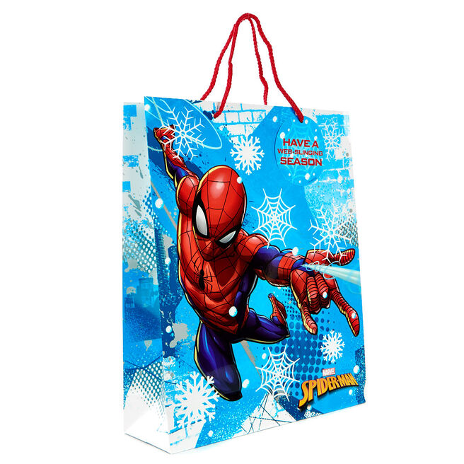 Large Spider Man Christmas Gift Bag