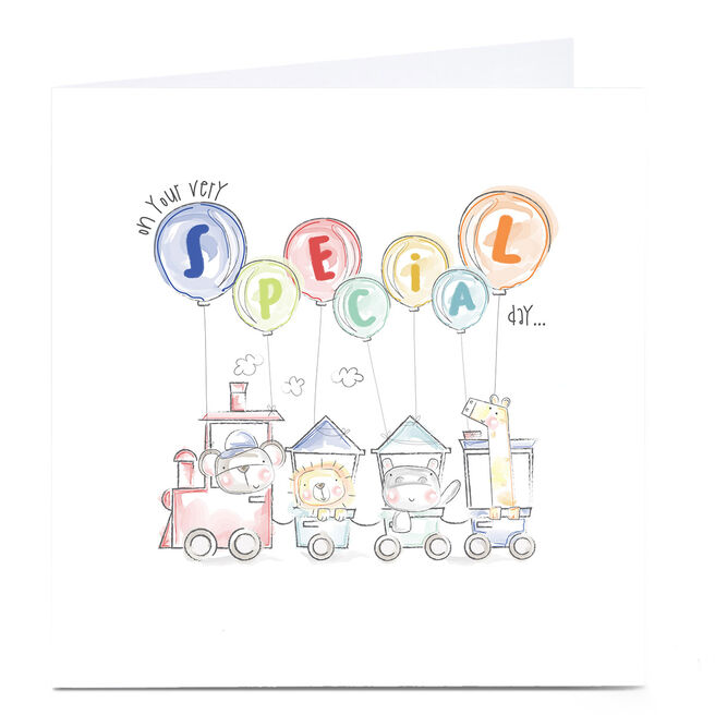 Personalised Rachel Griffin Birthday Card - On Your Very Special Day