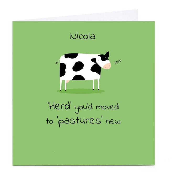 Personalised Cory Reid Card - Herd You Moved