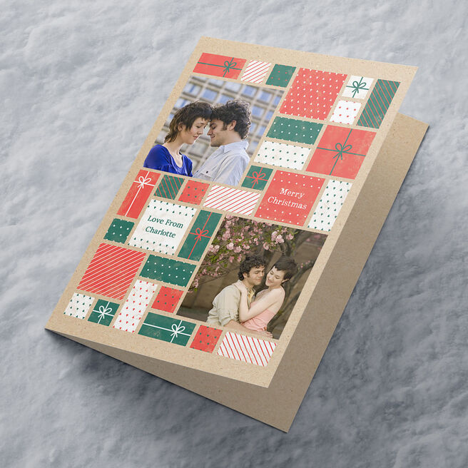 Multi Photo Card - Presents and Photos