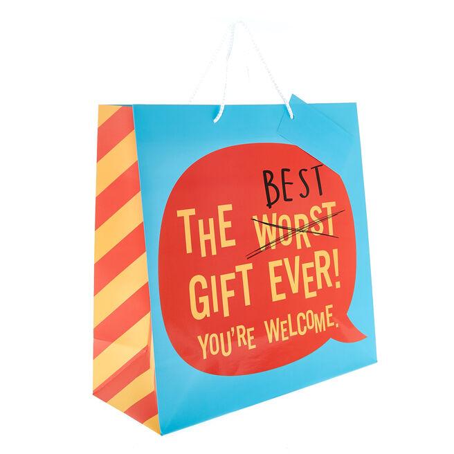 Medium Square Gift Bag - Best Gift Ever