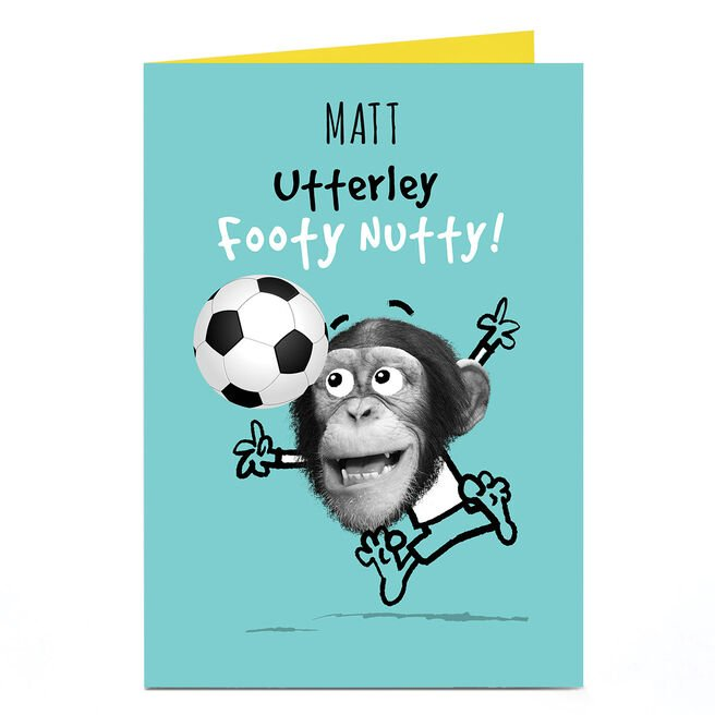 Personalised Pink Pet Shop Card - Footy Nutty!