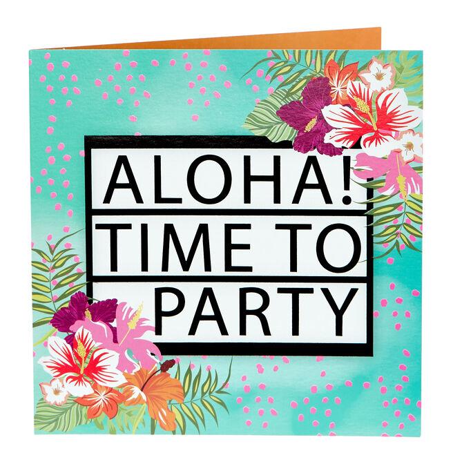 Any Occasion Card - Aloha!