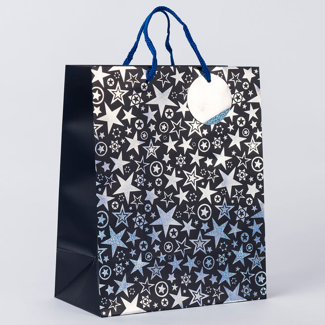 Star Design Large Gift Bag