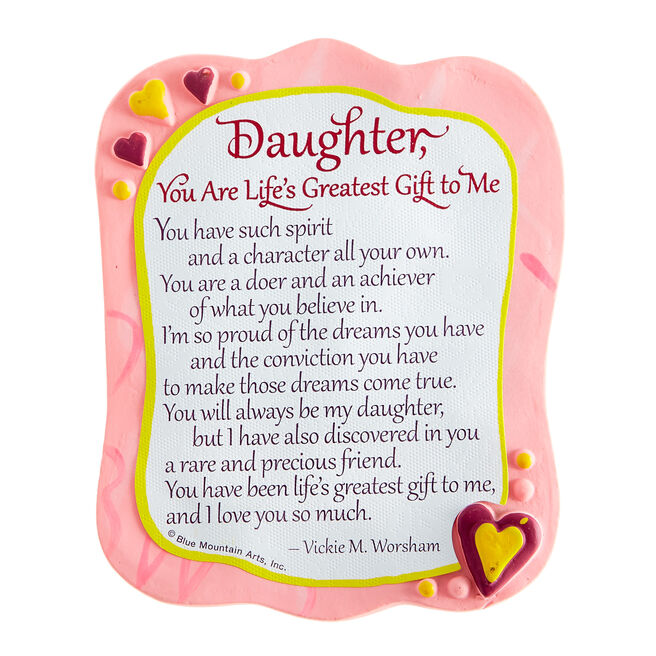 Blue Mountain Arts Magnet - Daughter, Life's Greatest Gift