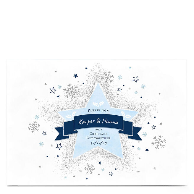 Personalised Christmas Card - Christmas Get Together