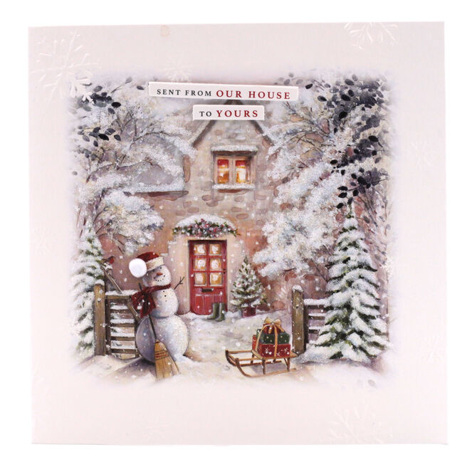 Boutique Collection Christmas Card - From House To House