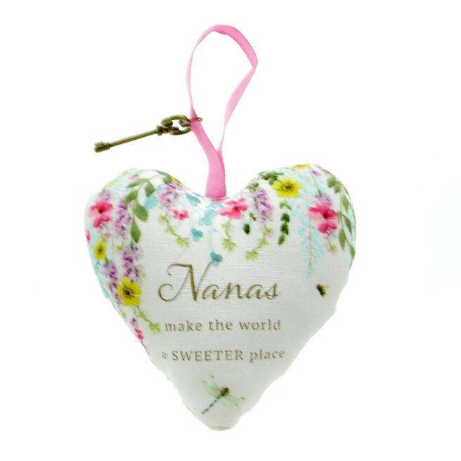 Nana Lavender Scented Hanging Heart