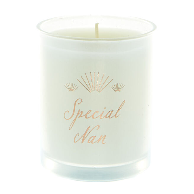 Special Nan Vanilla Scented Candle
