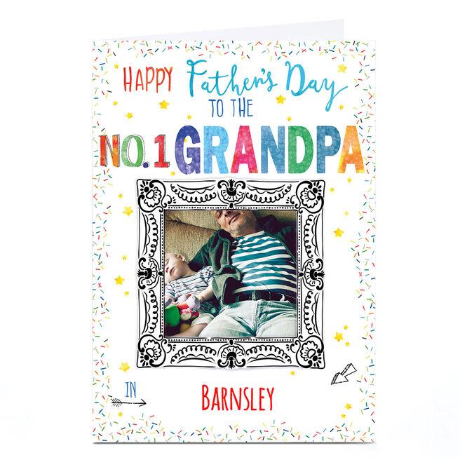 Photo Nik Golesworthy Father's Day Card - No 1 Grandpa