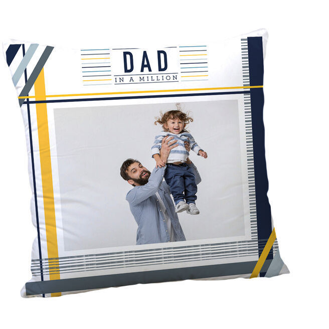 Personalised Father's Day Cushion - Dad In A Million