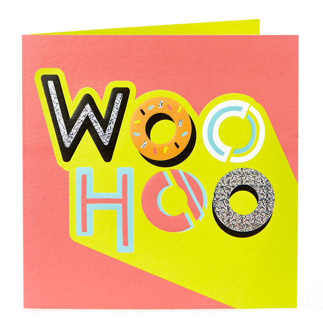 Any Occasion Card - Woo Hoo