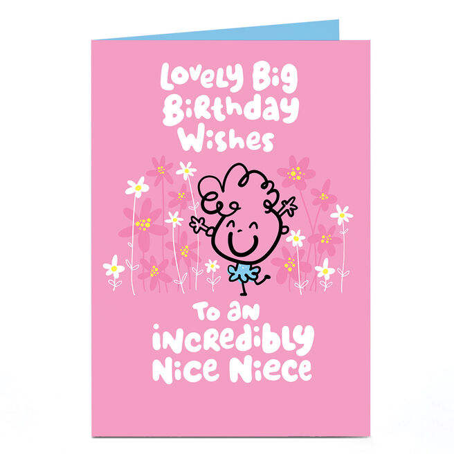 Personalised Fruitloops Birthday Card - Nice Niece