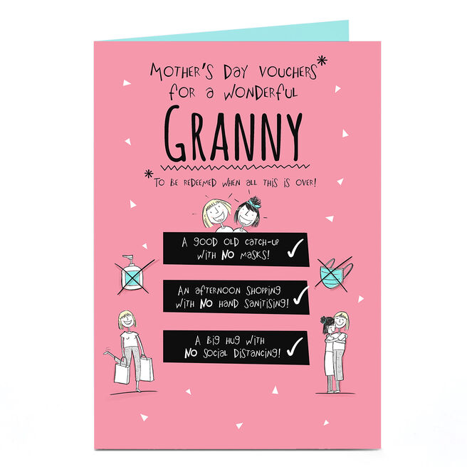 Personalised Mother's Day Card - Mother's Day Vouchers