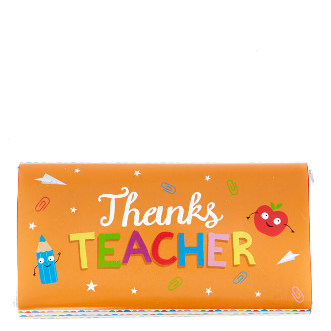 Thanks Teacher Milk Chocolate Bar