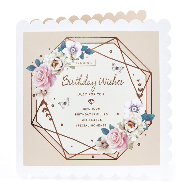 Birthday Card - Extra Special Moments