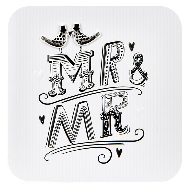 Boutique Collection Wedding Card - Mr & Mr