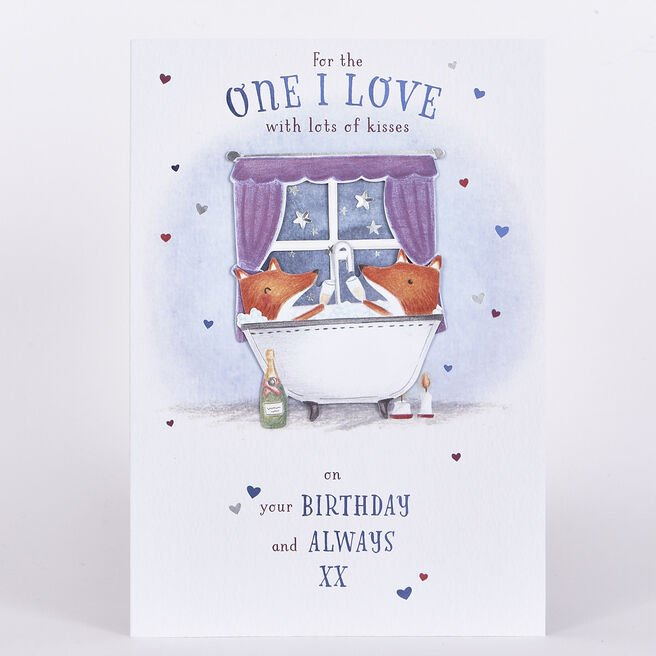 Signature Collection Birthday Card - One I Love