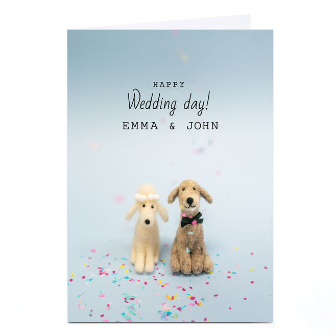 Personalised Lemon and Sugar Card - Happy Wedding Day